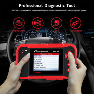 Launch X431 Crp123 Obd2 Engine Abs Srs Transmission Diagnostic Tool Auto Scanner