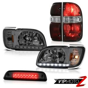 01 04 Toyota Tacoma 4wd High Stop Lamp Parking Brake Lights Headlamps Bumper Led