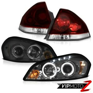 2006 2013 Chevy Impala Lt Smokey Red Rear Brake Lamps Smoked Projector Headlamps
