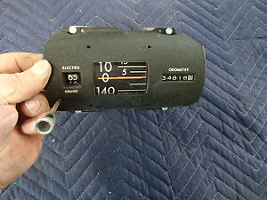 Speedometer With Cruise Control 1966 1967 Buick Riviera Gs