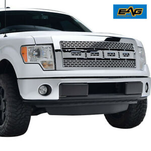 Full Upper Raptor Grill Front Hood Replacement Grille For 09 14 Ford F150