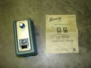 Browning Lw25 75 Electric Dc Motor Speed Control Controller 3 4 Hp Max