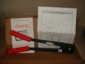 New Mip 1100 34 Steel Strapping Sealer 3 4 Factory Box W Paperwork Made In Usa