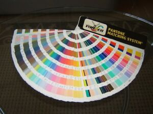 Van Son Holland Ink Pantone Matching System Color Guide rainbow Of Colors