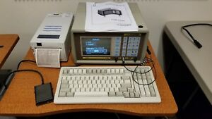 Sonomed A Scan A 2500 With Probe Keyboard Foot Pedal Printer Calibrated