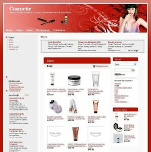 Established Beauty Cosmetic Affiliate Business Website For Sale Work At Home