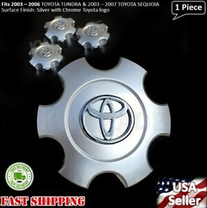 New 1pc Toyota Tundra 2003 2004 2005 2006 Wheel Center Hub Cap Silver 560 69440