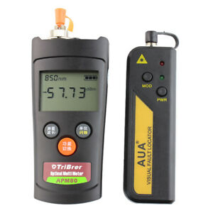 Mini Optic Power Meter Tester And 30mw Visual Fault Locator 10 30km Fiber Pen
