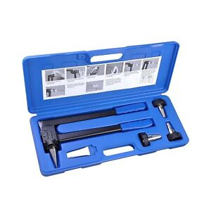 Yescom Pex Expansion Tool Kit Tube Expander With 1 2 3 4 1 Expander Heads