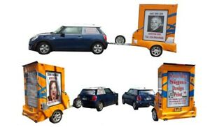 Mobile Billboard Sign Trailer For Sale Can Be Used For Any Business