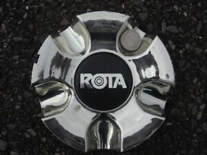 One Rota Chromed Plastic Centercap Center Cap Aps 0001 Aftermarket Aps0001