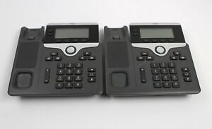 Cisco 7821 Voip Poe Business Ip Phone Base Cp 7821 lot Of 2