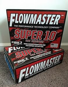 Flowmaster Mufflers 842515 Super 10 Stainless Steel Set Of 2 New In Box