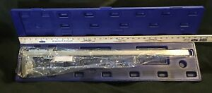 Fowler 52 085 024 0 Master Vernier Dial Caliper 0 24 600mm Long Range Chrome