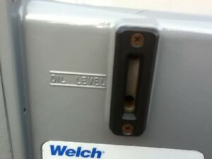 Used Welch 1376b 01 Vacuum Pump