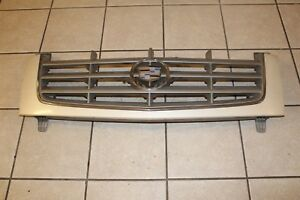 02 03 04 05 06 Cadillac Escalade Front Upper Radiator Grille Grill Mesh Pearl