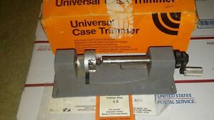 Used Lyman Universal Case Trimmer With 5 Pilots