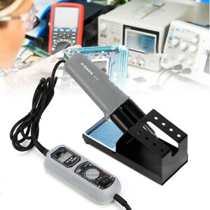 Portable Parallel Hot Tweezer Soldering Station For Bga Smd Yihua 938d 110v 120w