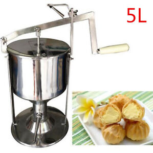 Manual Donut Filler Jelly Filling Cream Filled Machine Kitchen Tool Cooking 5l
