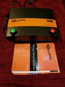 Gallagher M600 Electric Fence Charger 150 Acres 25 Mile 6 Joules Horse Cow Bull