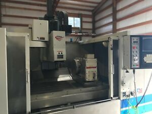 Fadal 8030 Vmc 10000 Rpm Vertical Machining Center With 4 Axis Table Haas
