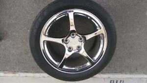 1997 2005 Cheverolet Chevy Corvette C5 Chrome Factory Wheels Used Set Of 4