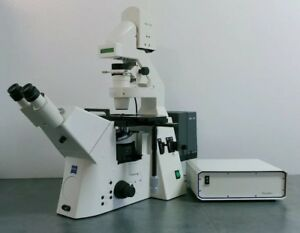 Zeiss Microscope Axiovert 200m With Fluorescence And Motorized