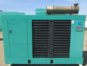 75 Kw Onan Ford Natural Gas Or Propane Generator Genset Load Bank Tested