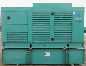 250 Kw Cummins Onan Diesel Generator Genset Load Bank Tested