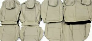 Fits 2016 Mazda Cx 5 Touring Factory Sand Leather Upholstery Seat Cover Set