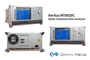 Anritsu Mt8820c Radio Communication Analyzer 2g 3g 4g Lte Tdd Fdd