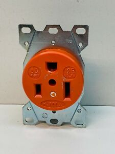 Hubbell 9550ig 50 amp Isolated Ground Receptacle 125v 50a 2p 3w 5 50r
