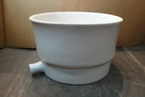 Buchner Table Top Porcelain Funnel Approx 1900 2000ml Chipped Outlet Chemglass