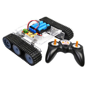 33gb520 Motor Dc9 12v Tank Chassis 2 4g Remote Control For Arduino