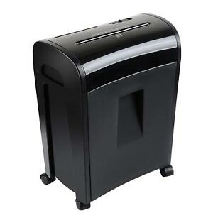 Heavy Duty Paper Shredder Office Commercial Professional Destroy Card 10 Sheet