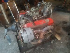 Complete Running 1969 Chevrolet 350 Engine 3970010 G39 See Video