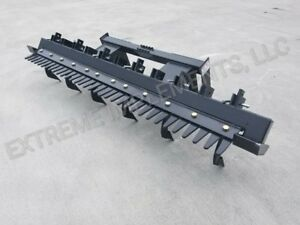 72 Skid Steer Landscape finishing Rake Attachment