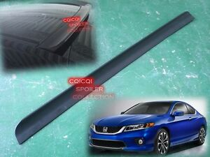 Unpainted Honda 2013 2017 Accord Coupe 9th Generation Roof Spoiler