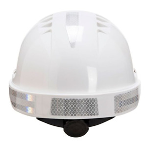 Portwest Silver Reflective Stickers For Safety Helmets Hats 10pk 70 Stickers