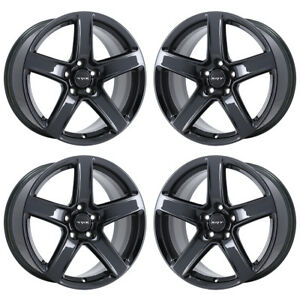 20 Jeep Grand Cherokee Srt Black Chrome Wheels Rims Factory Oem 9172 Exchange