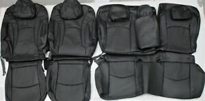 Fits 2016 2018 Toyota Prius Ii Iii Blueray Leather Upholstery Seat Cover Set