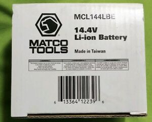 Brand New Matco 14 4v Li Ion Battery Mcl144lbe