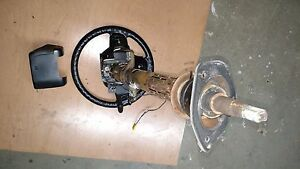 1997 1998 Jeep Grand Cherokee Zj Steering Column With Steering Wheel