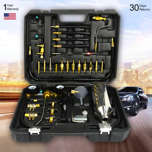 Car Accessories Fuel Injection Nozzle Washing Tool Air Injector Cleaning Kit Bsp