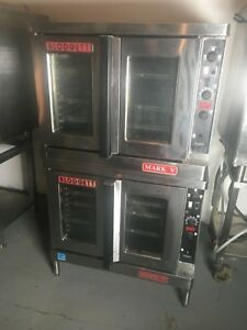 Blodgett Mark V 111 Double Stack Electric Convection Oven
