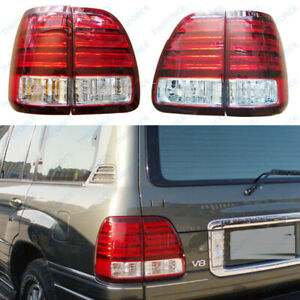 Truck Parts Left R Led Tail Lights For Lexus Lx470 1998 1999 02 Rear Lamps