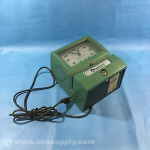 Acroprint 150ar3 Automatic print Electronic Time Recorder Usip