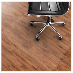 Office Marshal Pvc Chair Mat For Hard Floors Protection Non Slip 36 X 48