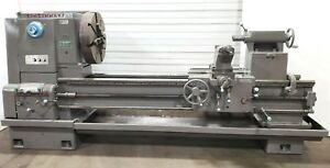 Running Cincinnati 36 Swing X 72 Hydrashift 26 Tool Room Engine Lathe 24 Chuck