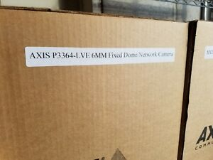 Axis P3364 lve Dome 6mm Network Surveillance Security Camera P n 0473 001